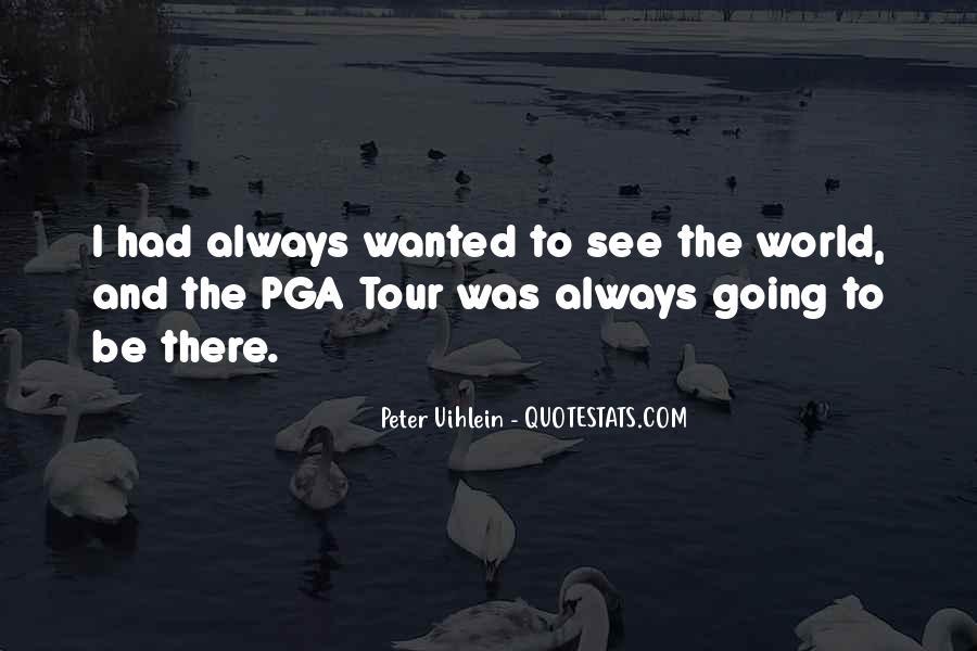 Pga Tour Quotes #1602233