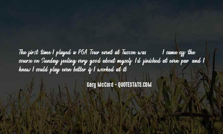 Pga Tour Quotes #1838969