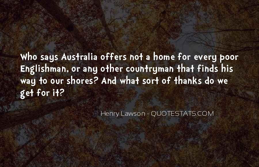 Quotes About Henry Lawson #142790