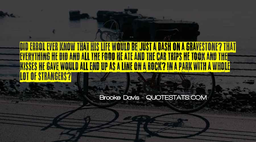 Quotes About Brooke Davis #1144554