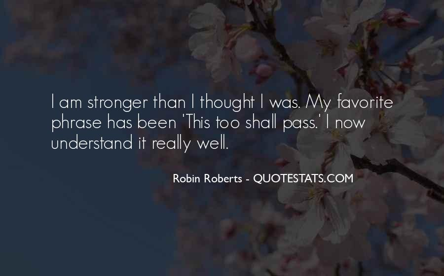 Quotes About Robin Roberts #1106849