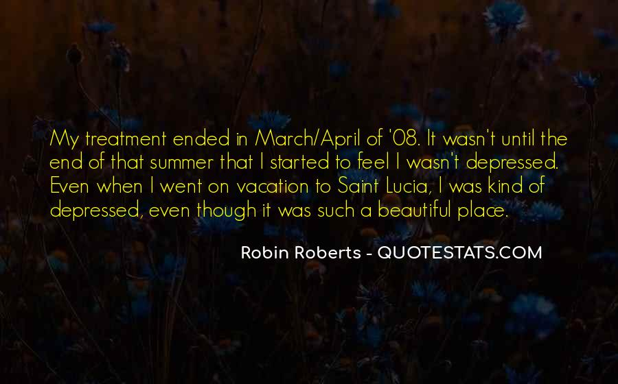 Quotes About Robin Roberts #1771298