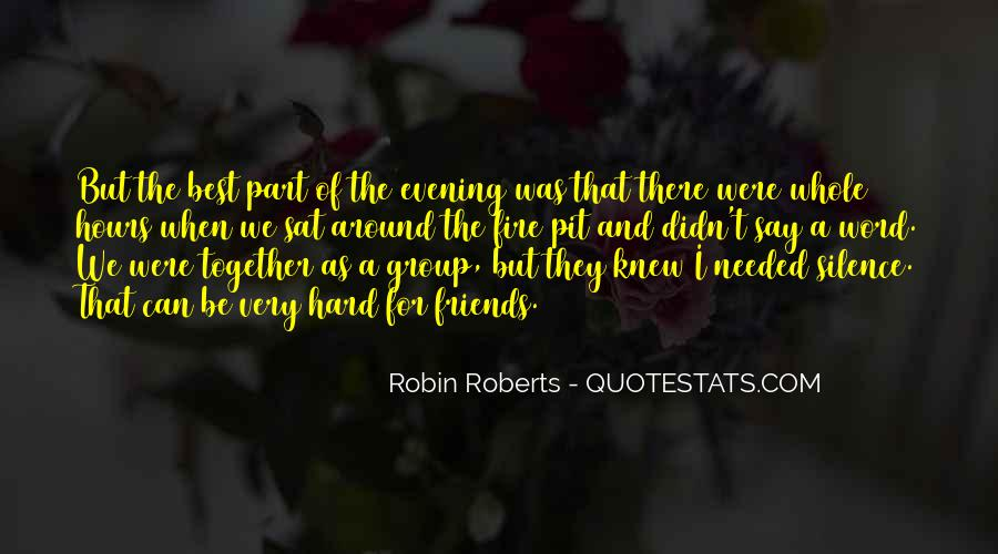 Quotes About Robin Roberts #988620