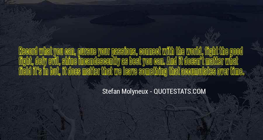 Philosophy Good And Evil Quotes #1116075