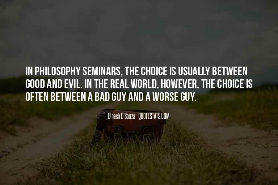 Philosophy Good And Evil Quotes #1710454