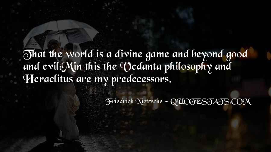 Philosophy Good And Evil Quotes #1781654