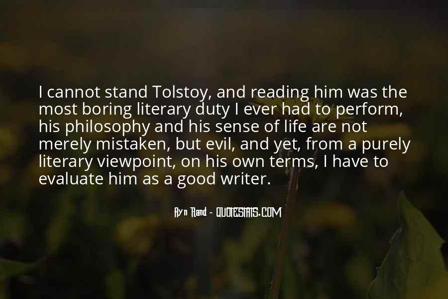 Philosophy Good And Evil Quotes #52578