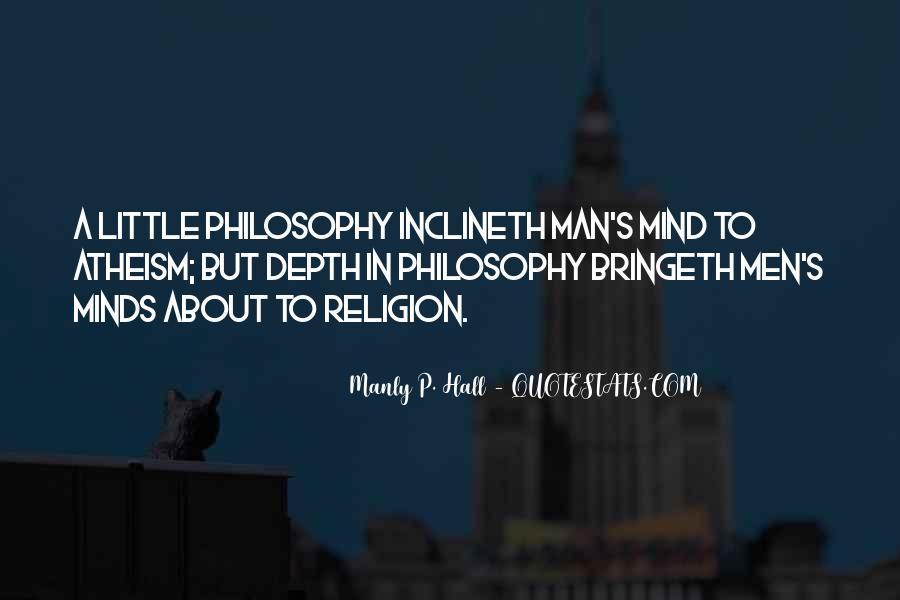 Philosophy Vs Religion Quotes #21023