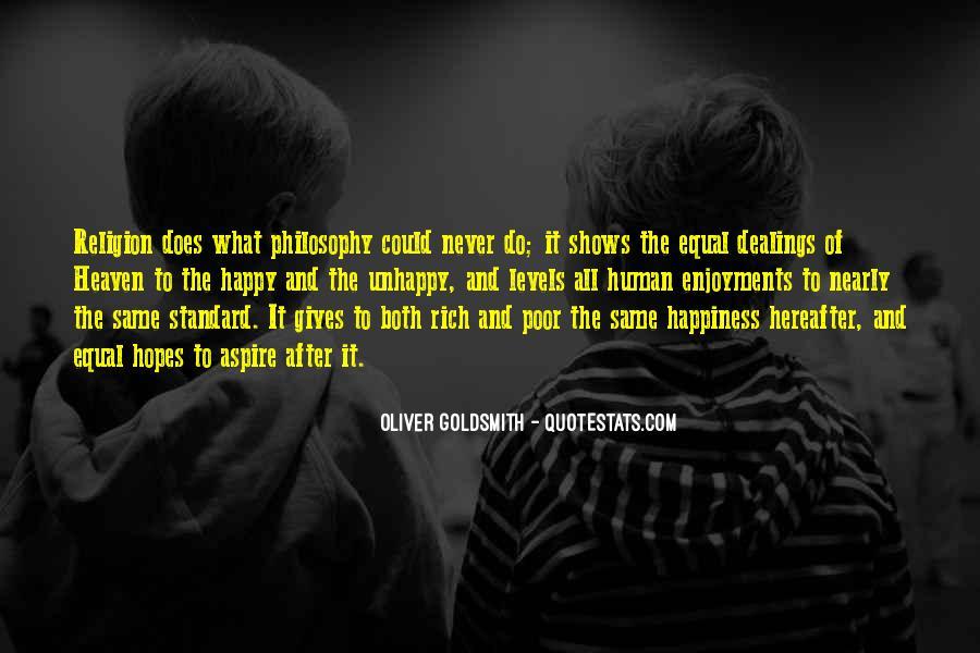 Philosophy Vs Religion Quotes #72580