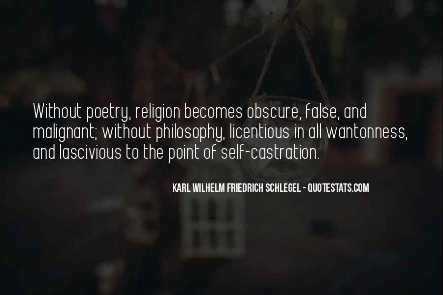 Philosophy Vs Religion Quotes #73205