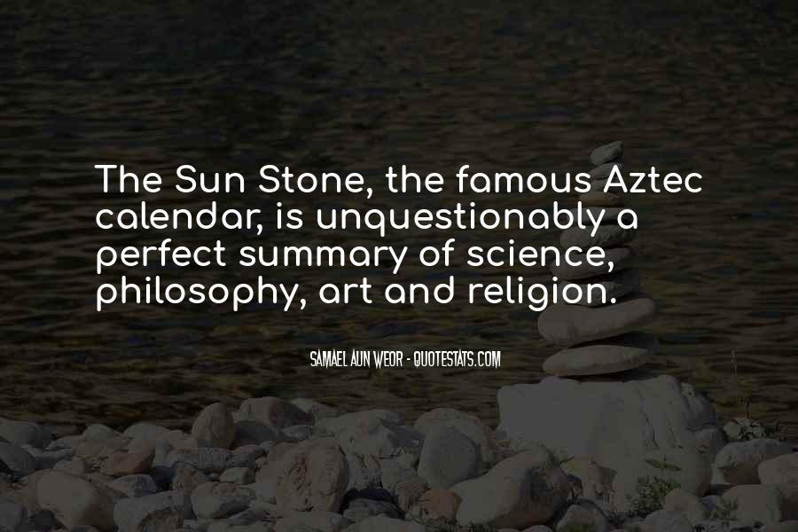 Philosophy Vs Religion Quotes #92191