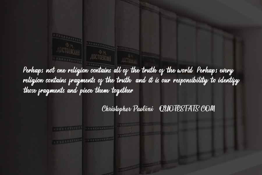 Philosophy Vs Religion Quotes #92347