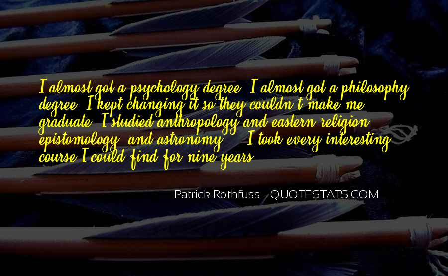 Philosophy Vs Religion Quotes #9468
