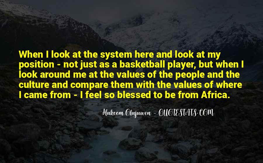 Quotes About Hakeem Olajuwon #1169320