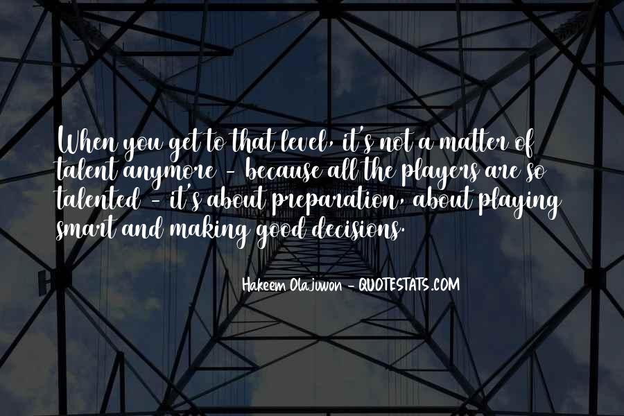 Quotes About Hakeem Olajuwon #1378103