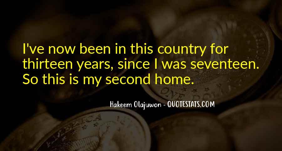 Quotes About Hakeem Olajuwon #1492614
