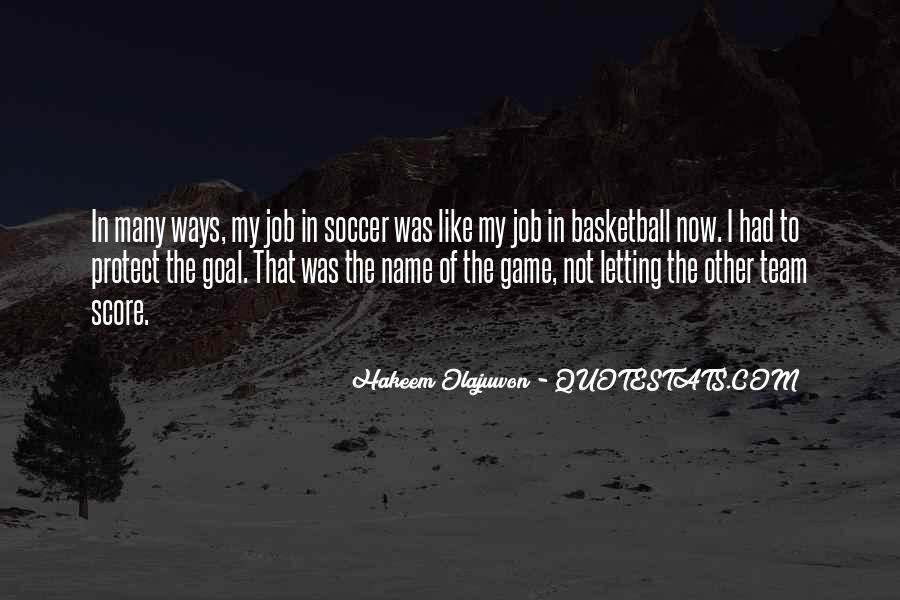 Quotes About Hakeem Olajuwon #1778723