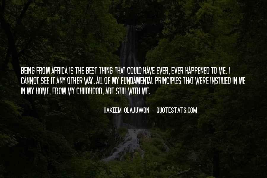 Quotes About Hakeem Olajuwon #587779