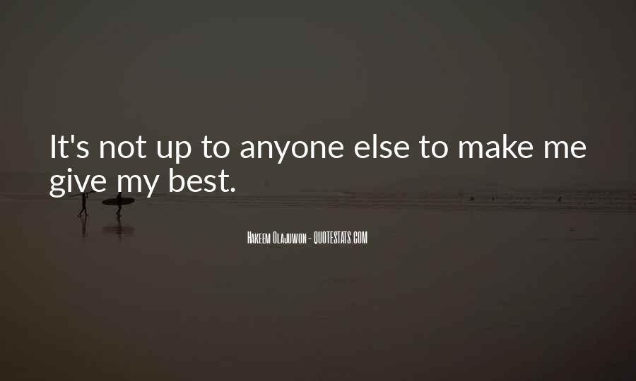 Quotes About Hakeem Olajuwon #802965