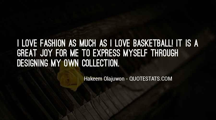 Quotes About Hakeem Olajuwon #805869