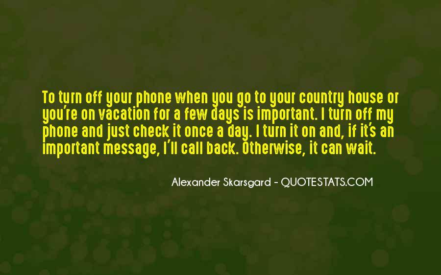 Phones Off Quotes #134048