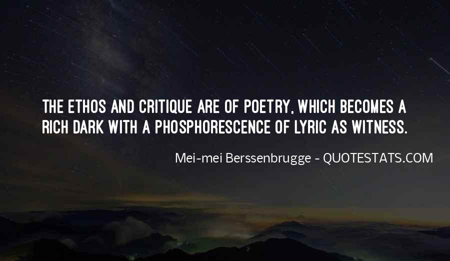 Phosphorescence Quotes #1035972