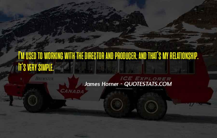 Quotes About James Horner #1104660