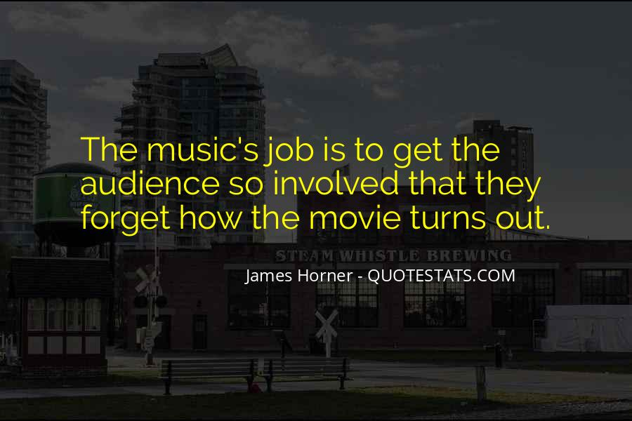 Quotes About James Horner #649798
