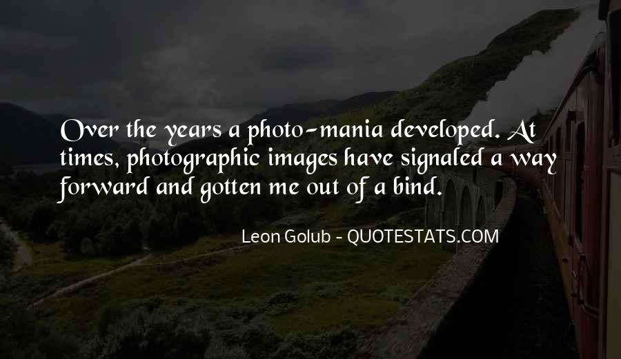 Photo Mania Quotes #1007124