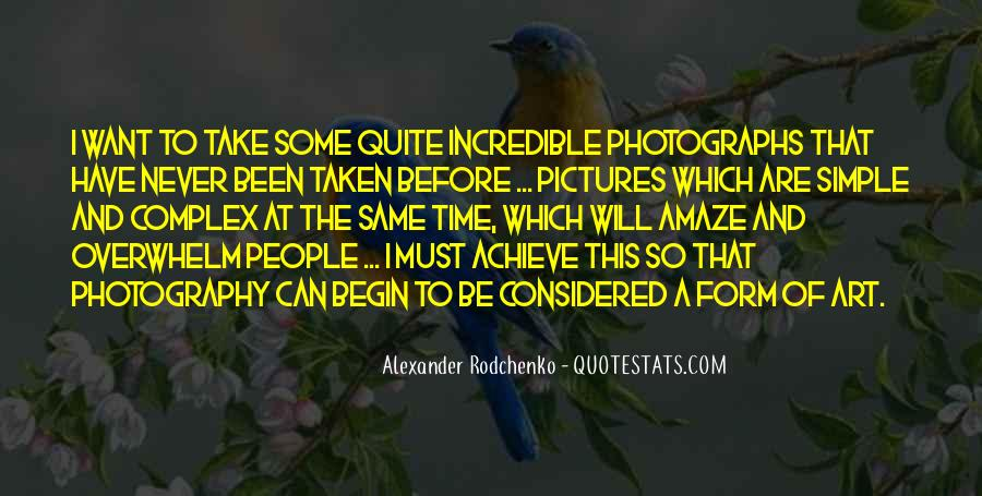 Photography Art Form Quotes #1378392