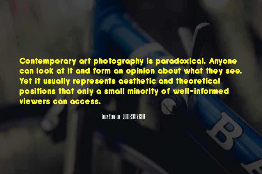 Photography Art Form Quotes #364580