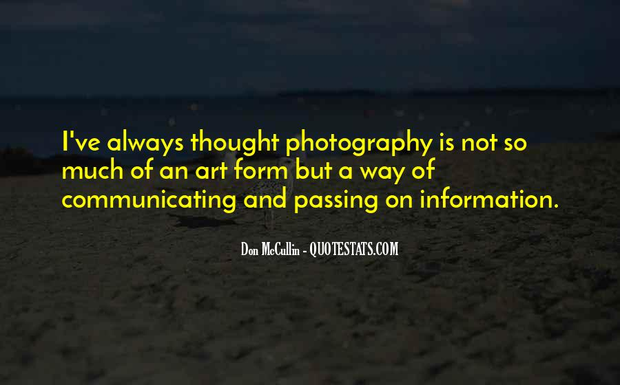 Photography Art Form Quotes #576122
