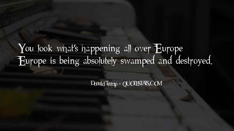 Quotes About Swamped #1154471