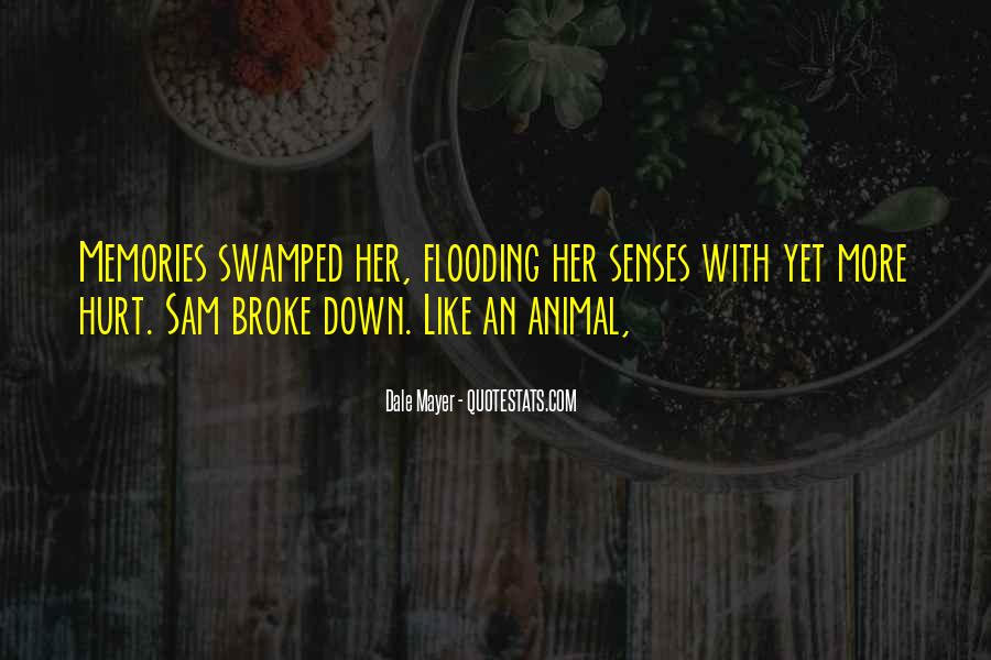 Quotes About Swamped #1408264