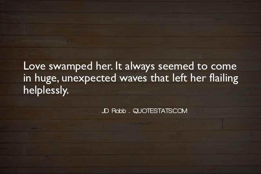 Quotes About Swamped #1425
