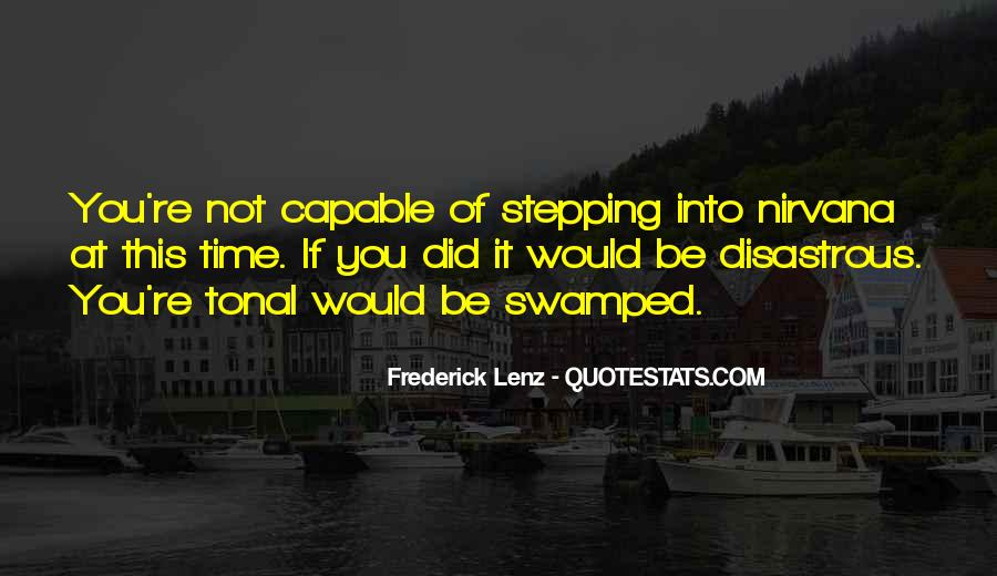 Quotes About Swamped #540670