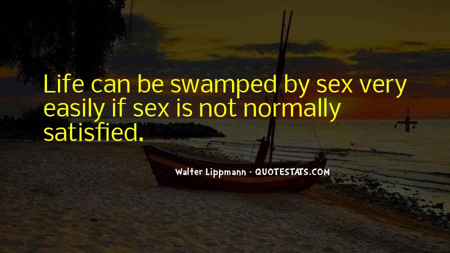 Quotes About Swamped #823074
