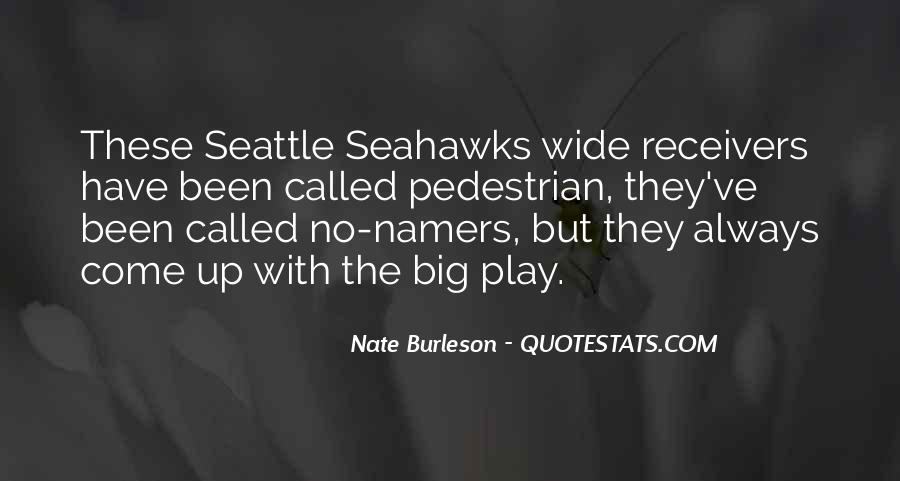 Quotes About Seattle Seahawks #1298600