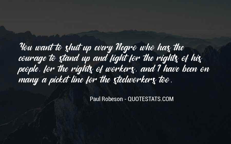 Picket Line Quotes #509595