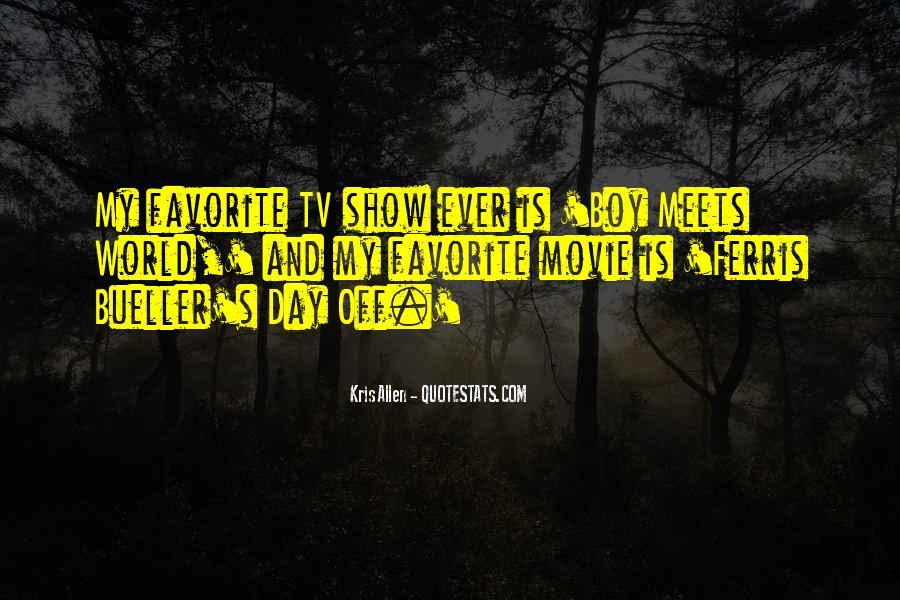 Quotes About Ferris Bueller #450239