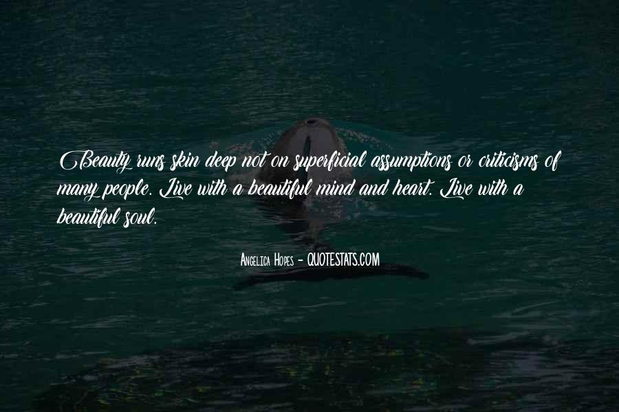Quotes About Beauty Is Only Skin Deep #1007637