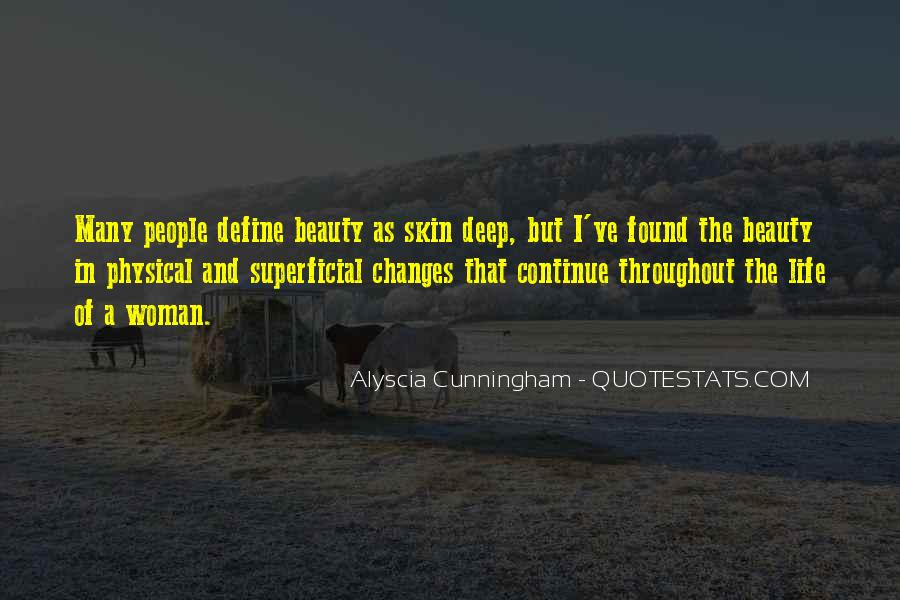 Quotes About Beauty Is Only Skin Deep #353362