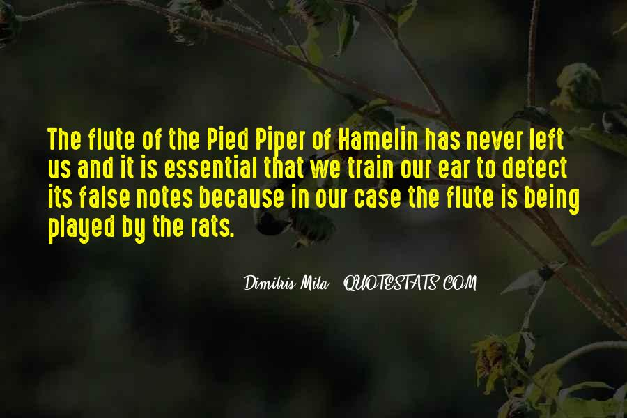 Pied Piper Of Hamelin Quotes #177617