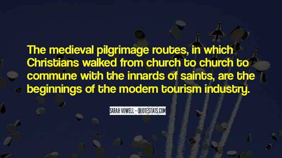 Pilgrimage Tourism Quotes #693578