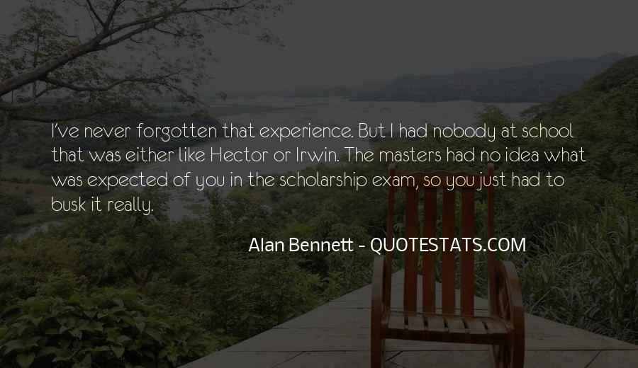 Quotes About Alan Bennett #10626