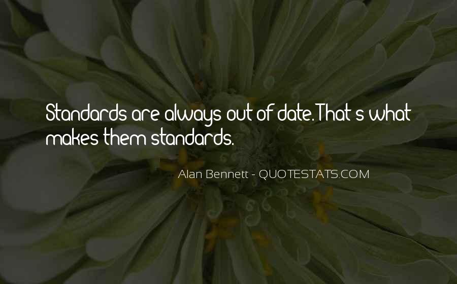 Quotes About Alan Bennett #115038