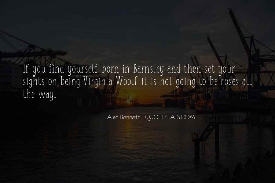 Quotes About Alan Bennett #18506
