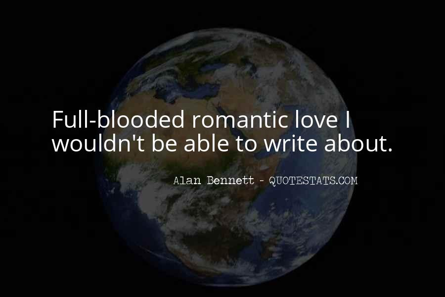 Quotes About Alan Bennett #194120
