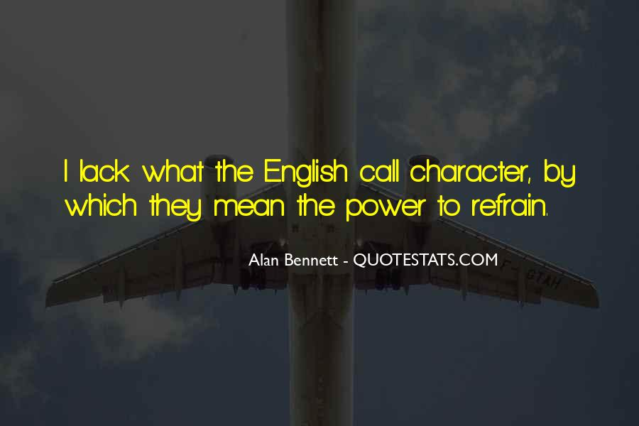 Quotes About Alan Bennett #298239