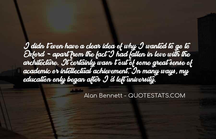 Quotes About Alan Bennett #308858